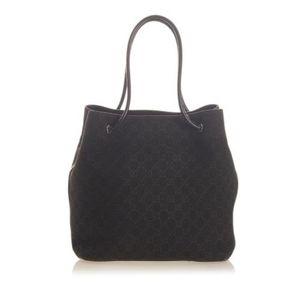 GUCCI Gifford Black Large Handbag